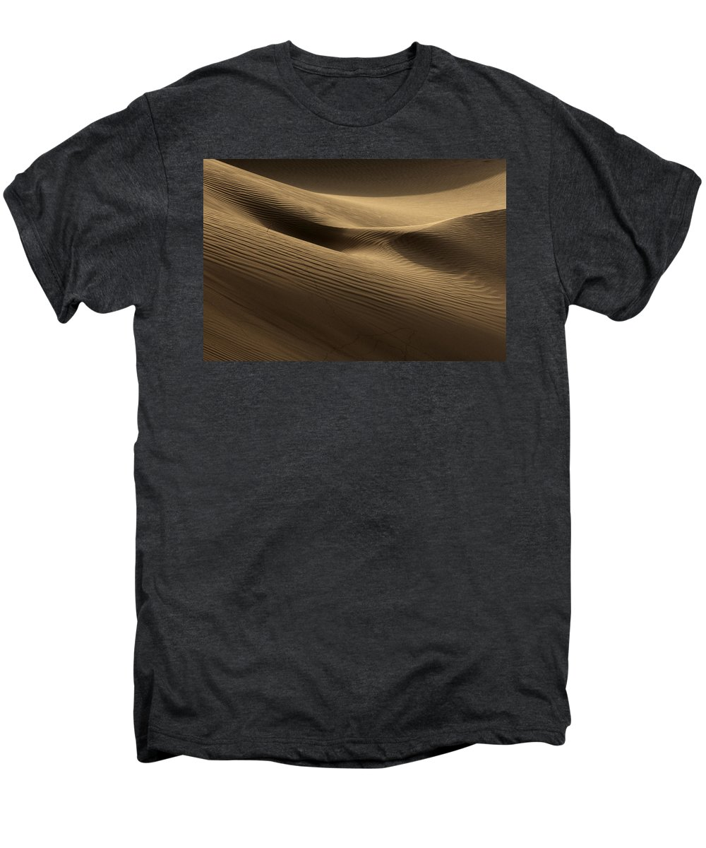 Dunes Men's Premium T-Shirt featuring the photograph Sand Dune by Phil Crean