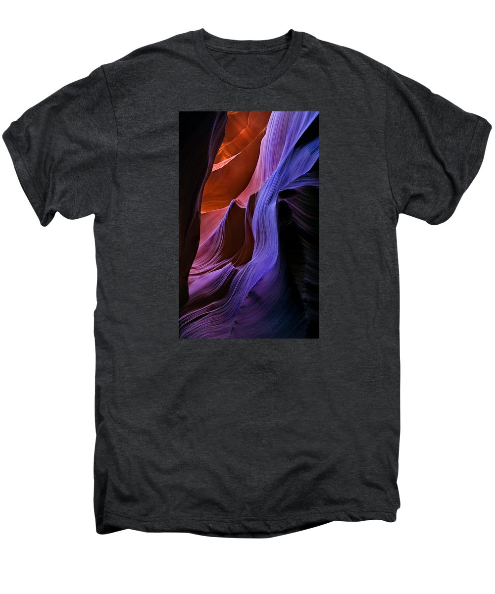Sandstone Men's Premium T-Shirt featuring the photograph Sandstone Cascade by Mike Dawson