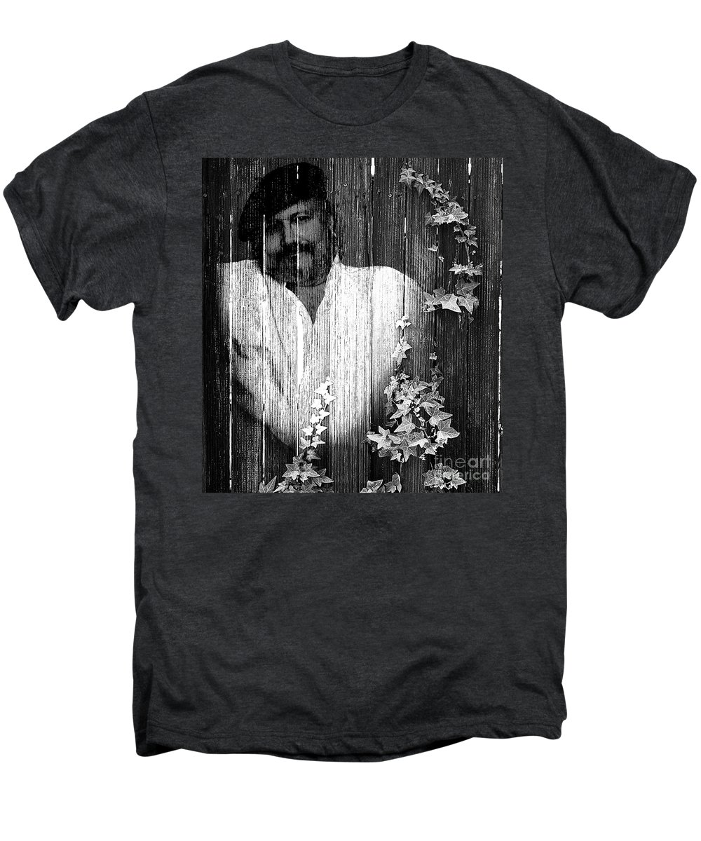 Clay Men's Premium T-Shirt featuring the photograph Self Portrait by Clayton Bruster