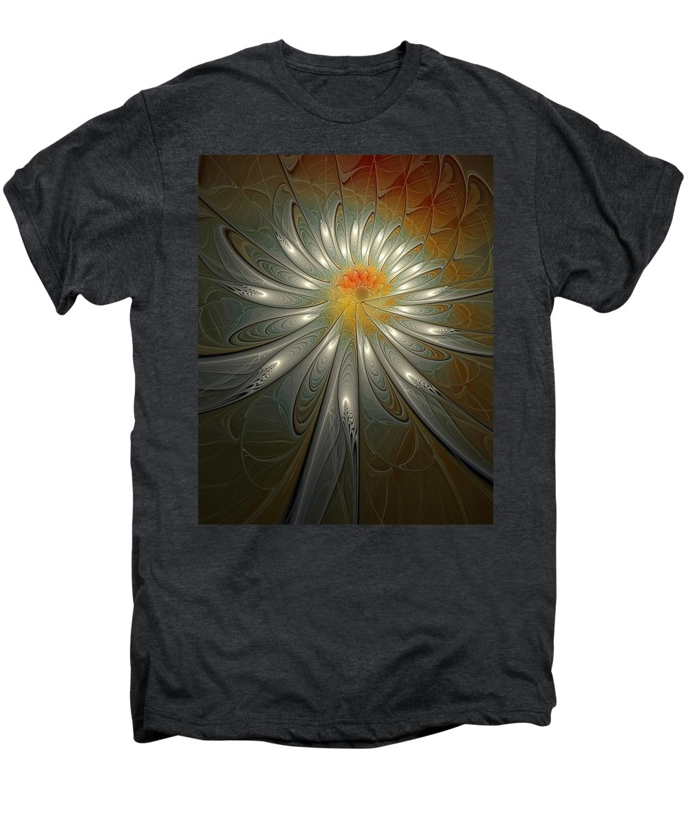 Digital Art Men's Premium T-Shirt featuring the digital art Shimmer by Amanda Moore