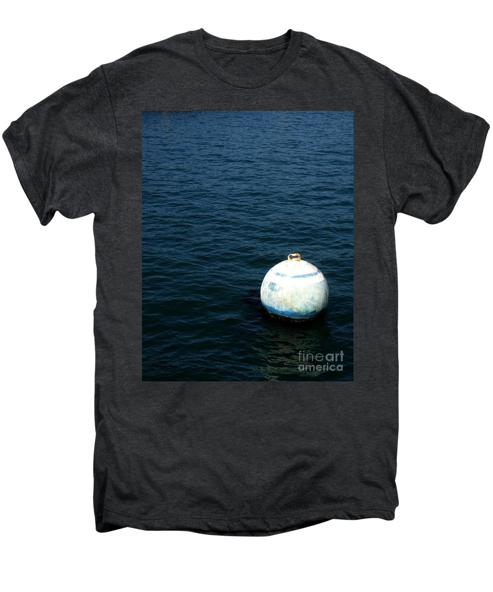 Seascape Men's Premium T-Shirt featuring the photograph Sit And Bounce by Shelley Jones