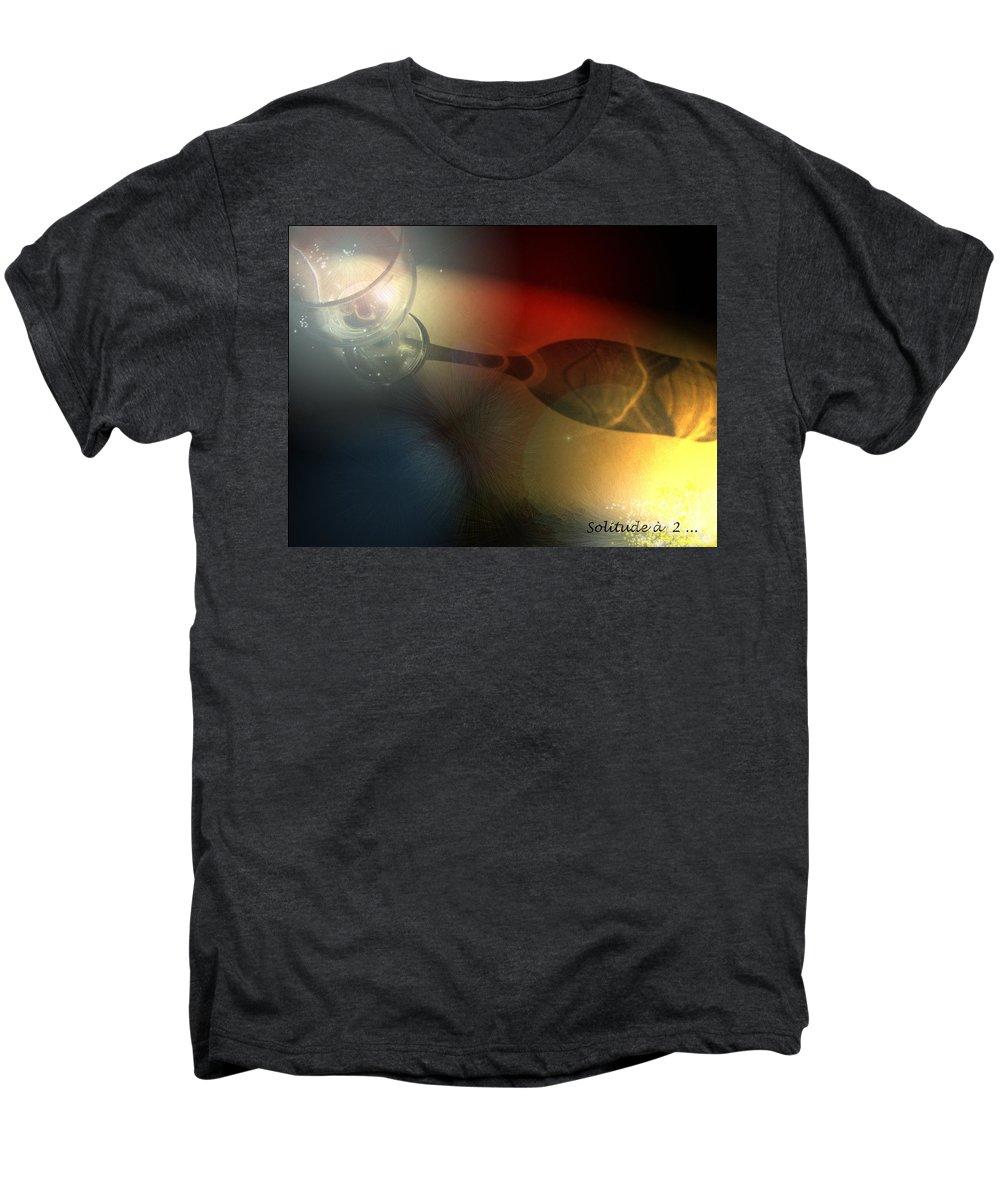 Fantasy Men's Premium T-Shirt featuring the photograph Solitude A Deux by Miki De Goodaboom