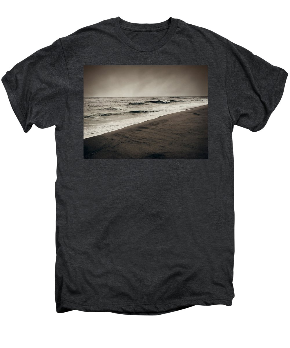 Ocean Men's Premium T-Shirt featuring the photograph Spending My Days Escaping Memories by Dana DiPasquale