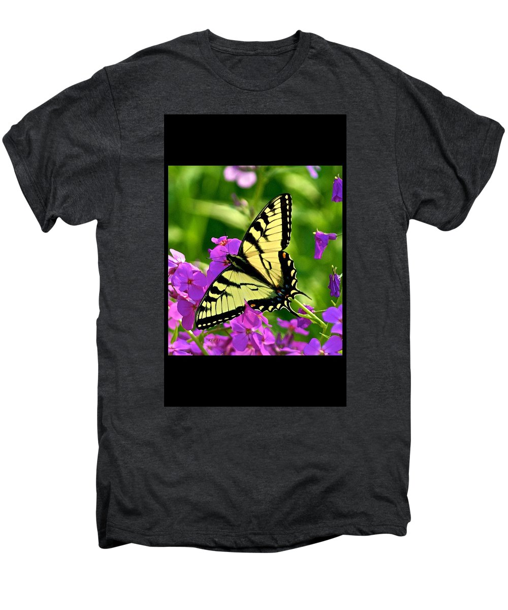 Butterfly Men's Premium T-Shirt featuring the photograph Spring Glory by Robert Pearson