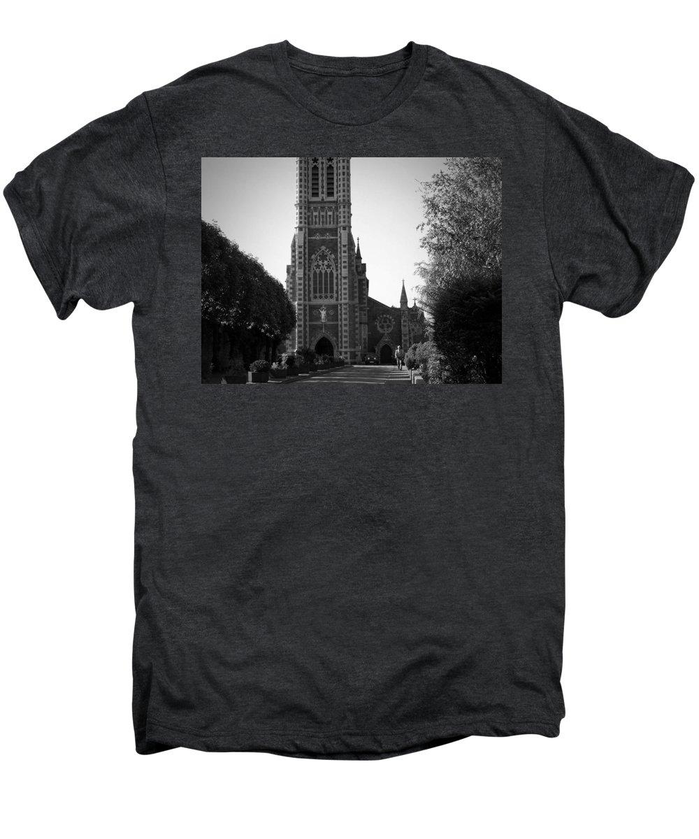 Irish Men's Premium T-Shirt featuring the photograph St. John's Church Tralee Ireland by Teresa Mucha