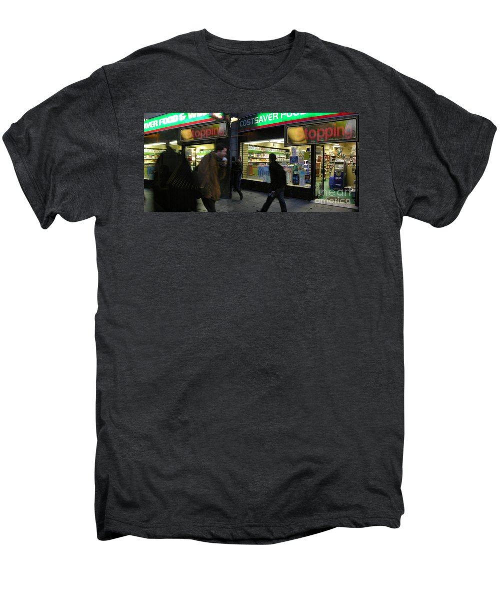 London Men's Premium T-Shirt featuring the photograph Stopping by Ze DaLuz