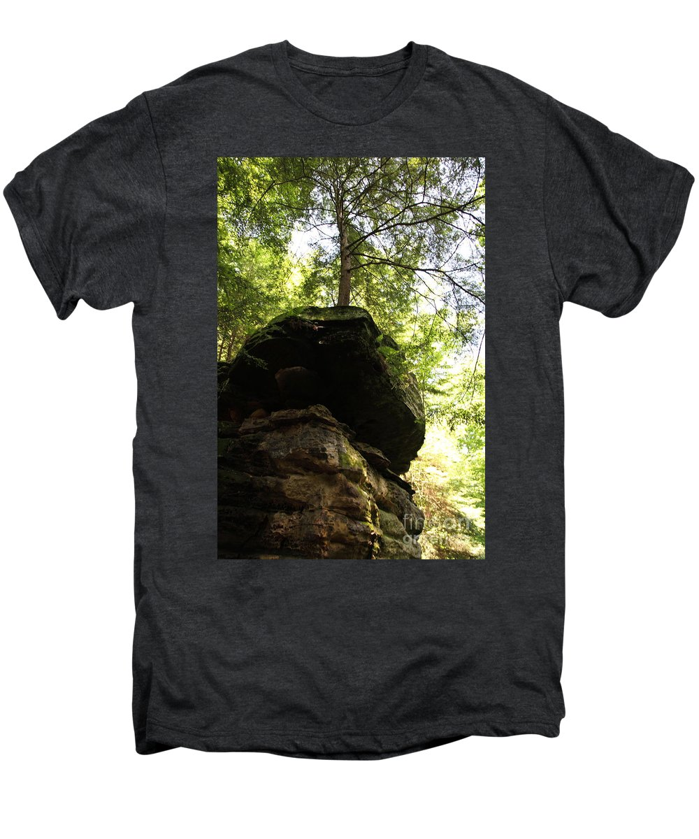 Tree Men's Premium T-Shirt featuring the photograph Strength by Amanda Barcon
