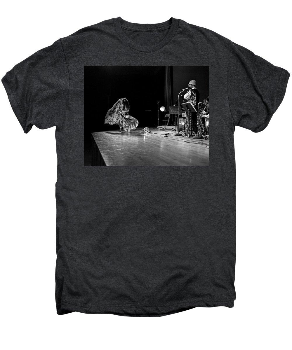 Jazz Men's Premium T-Shirt featuring the photograph Sun Ra Arkestra At Freeborn Hall by Lee Santa