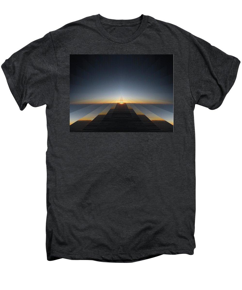 Sunrise Men's Premium T-Shirt featuring the digital art Sunrise From 30k 3 by Tim Allen