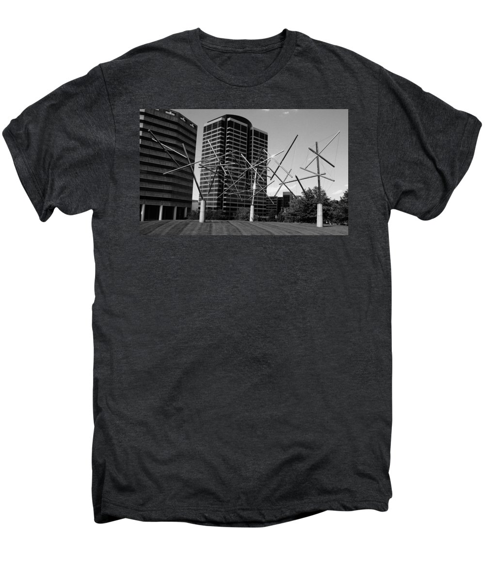 Metal Men's Premium T-Shirt featuring the photograph Suspended by Angus Hooper Iii
