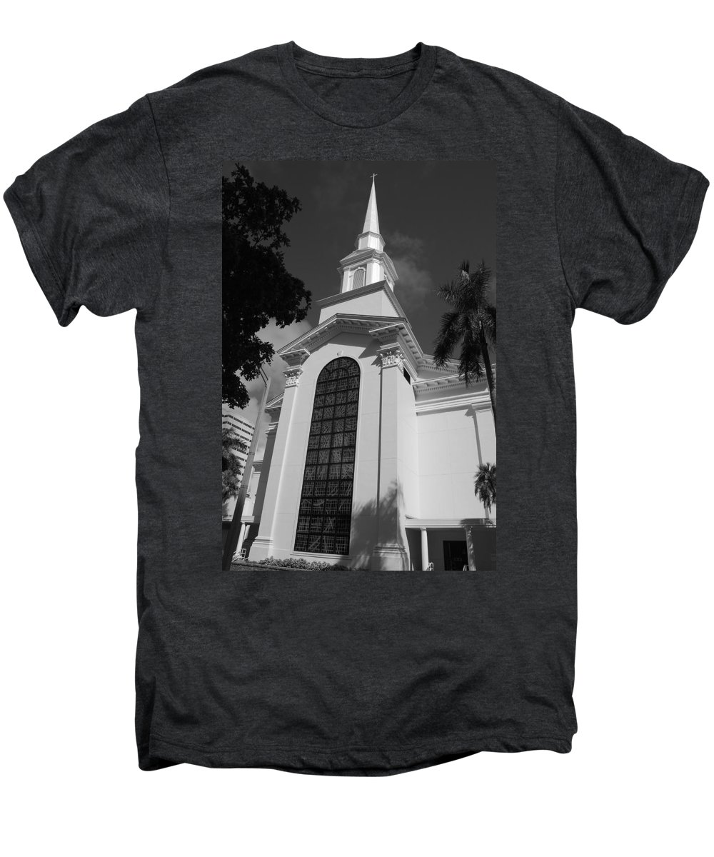 Architecture Men's Premium T-Shirt featuring the photograph Thats Church by Rob Hans