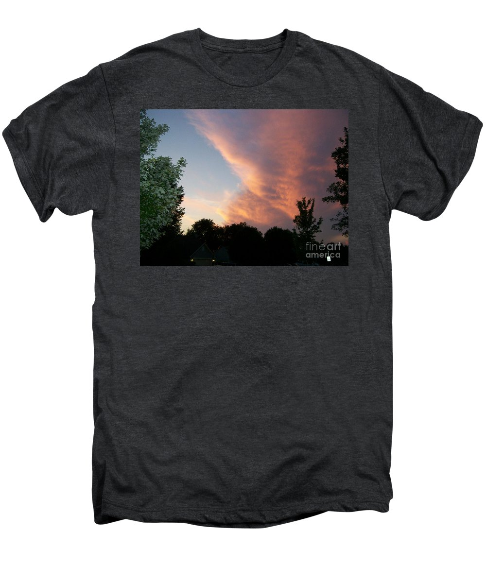 Sky Men's Premium T-Shirt featuring the photograph The Blanket by Stephen King