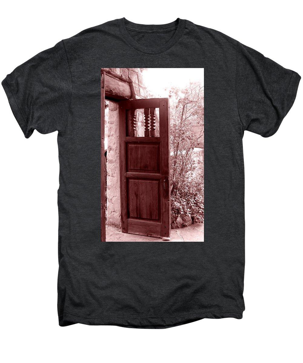 Door Men's Premium T-Shirt featuring the photograph The Door by Wayne Potrafka
