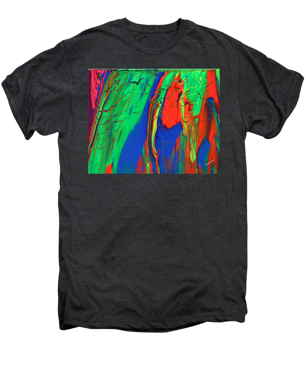 Fusionart Men's Premium T-Shirt featuring the painting The Escape by Ralph White