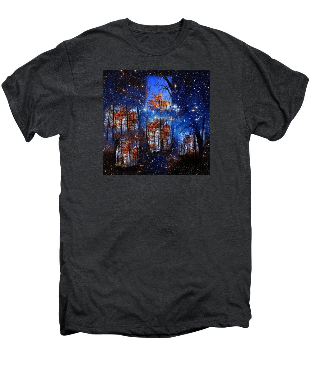 Deep Space Men's Premium T-Shirt featuring the photograph The Face Of Forever by Dave Martsolf