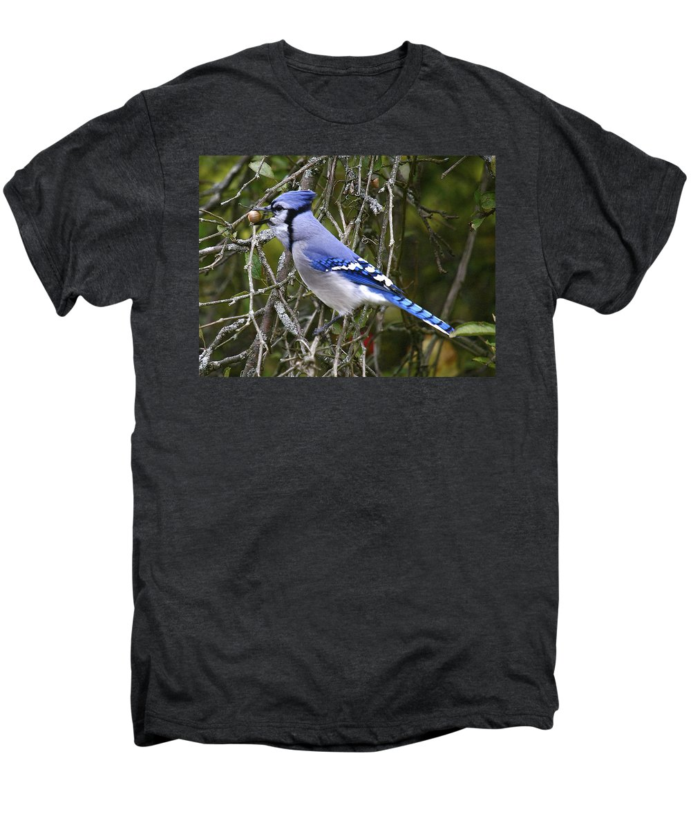 Bird Men's Premium T-Shirt featuring the photograph The Gathering by Robert Pearson