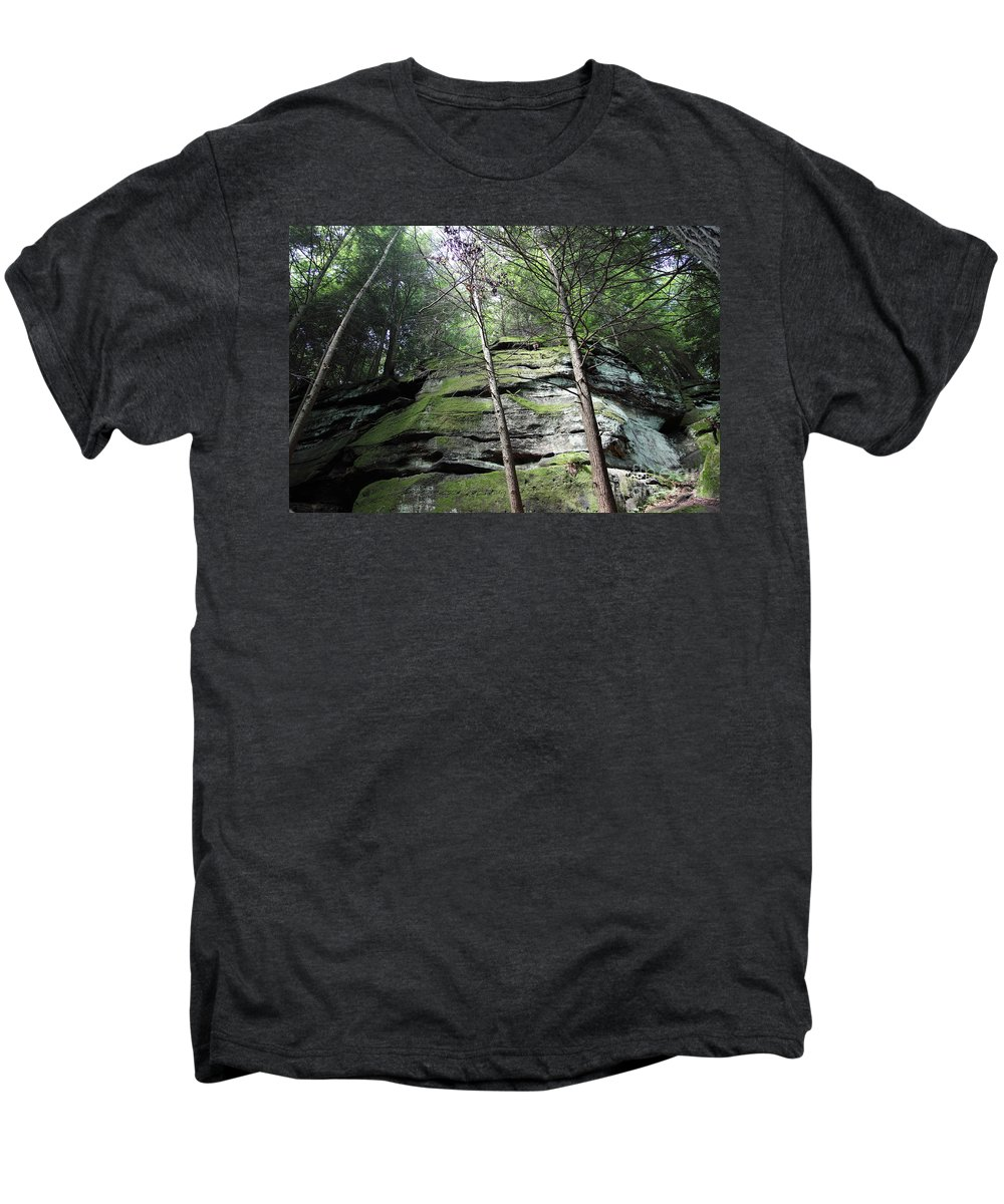 Nature Men's Premium T-Shirt featuring the photograph The Original My Space by Amanda Barcon