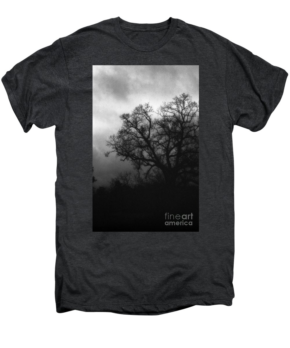 Eerie Men's Premium T-Shirt featuring the photograph The Other Side by Richard Rizzo