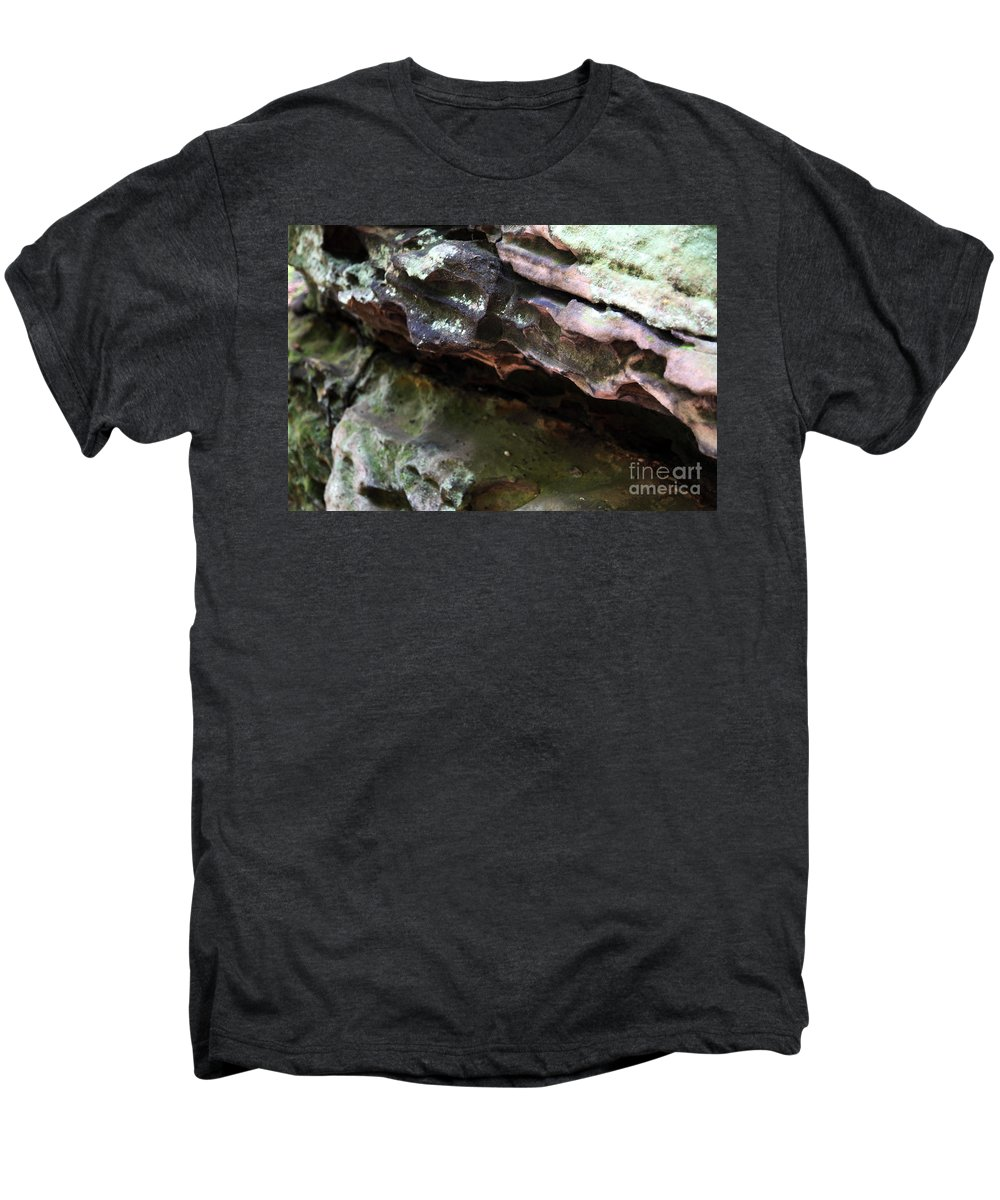 Mountainous Men's Premium T-Shirt featuring the photograph Thoughts by Amanda Barcon