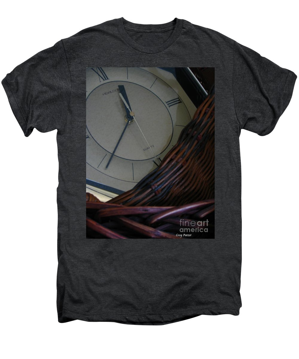 Patzer Men's Premium T-Shirt featuring the photograph Time Standing Still by Greg Patzer
