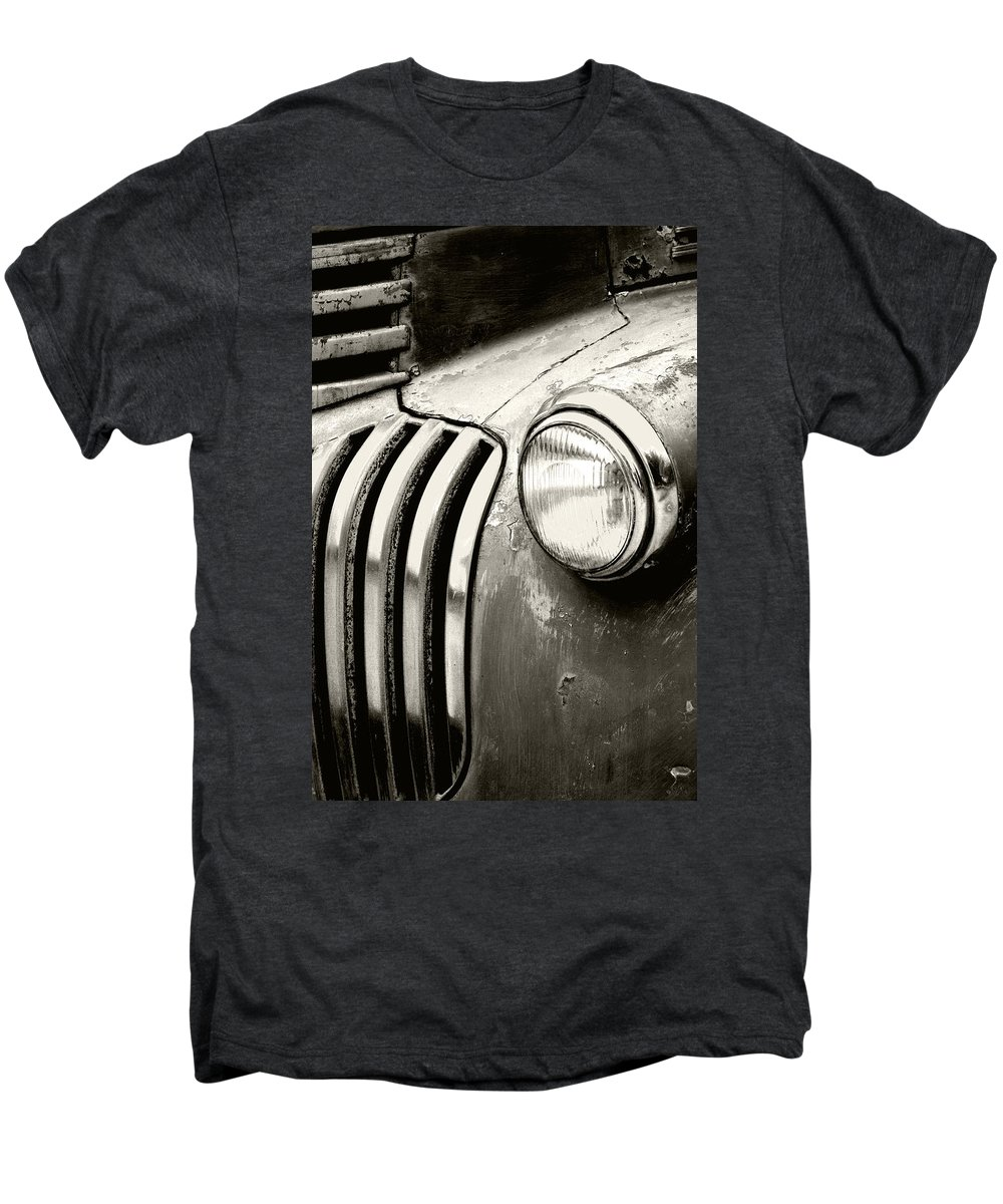 Cars Men's Premium T-Shirt featuring the photograph Time Traveler by Holly Kempe