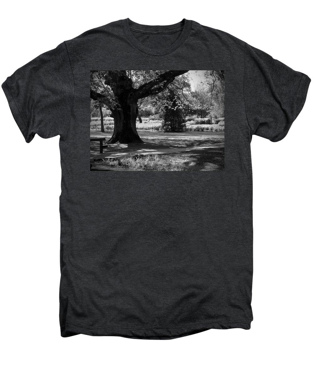 Irish Men's Premium T-Shirt featuring the photograph Tralee Town Park Ireland by Teresa Mucha