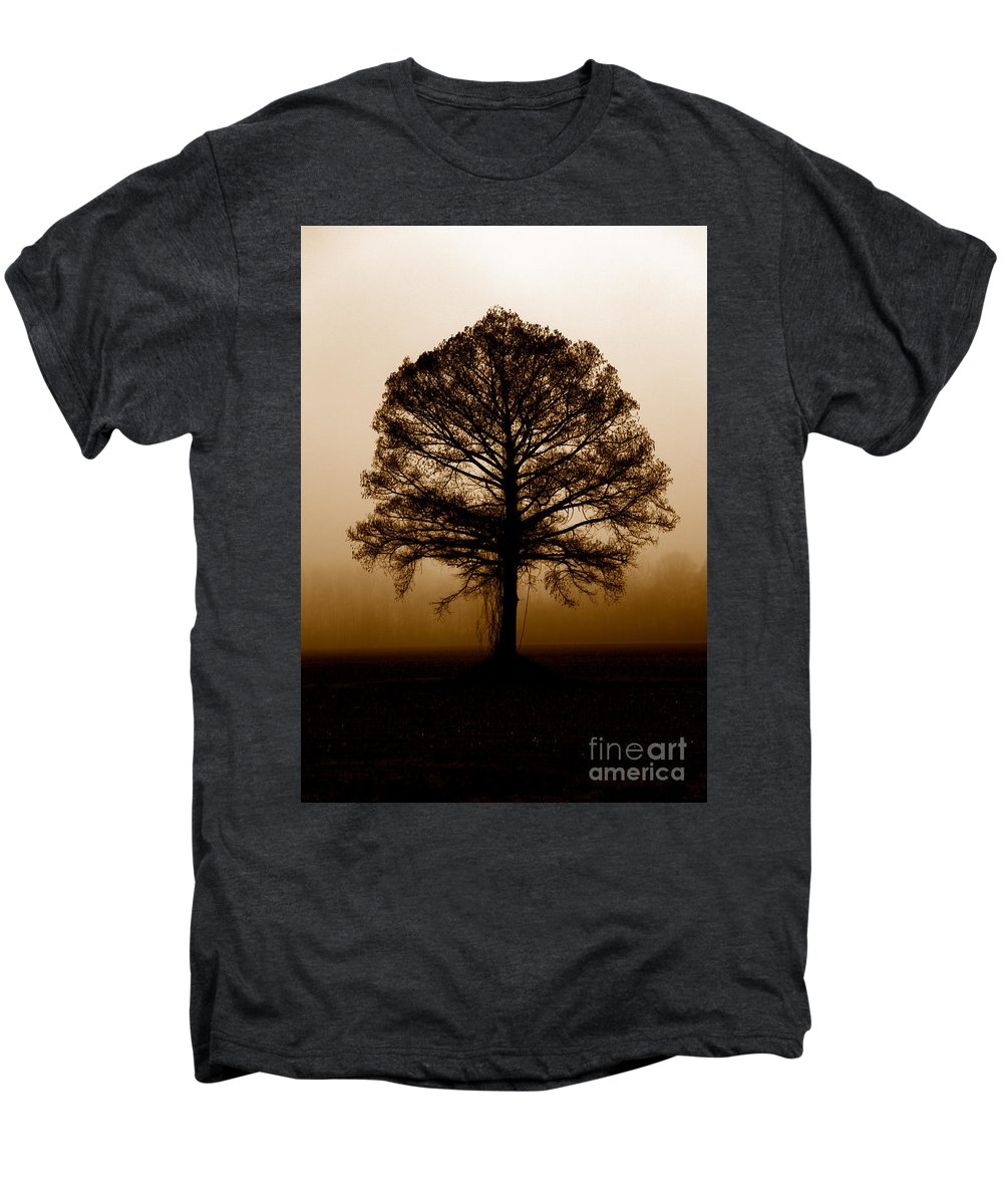 Trees Men's Premium T-Shirt featuring the photograph Tree by Amanda Barcon