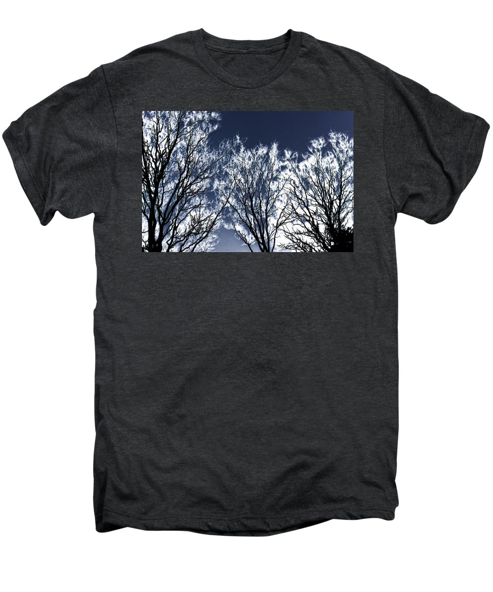 Scenic Men's Premium T-Shirt featuring the photograph Tree Fantasy 2 by Lee Santa