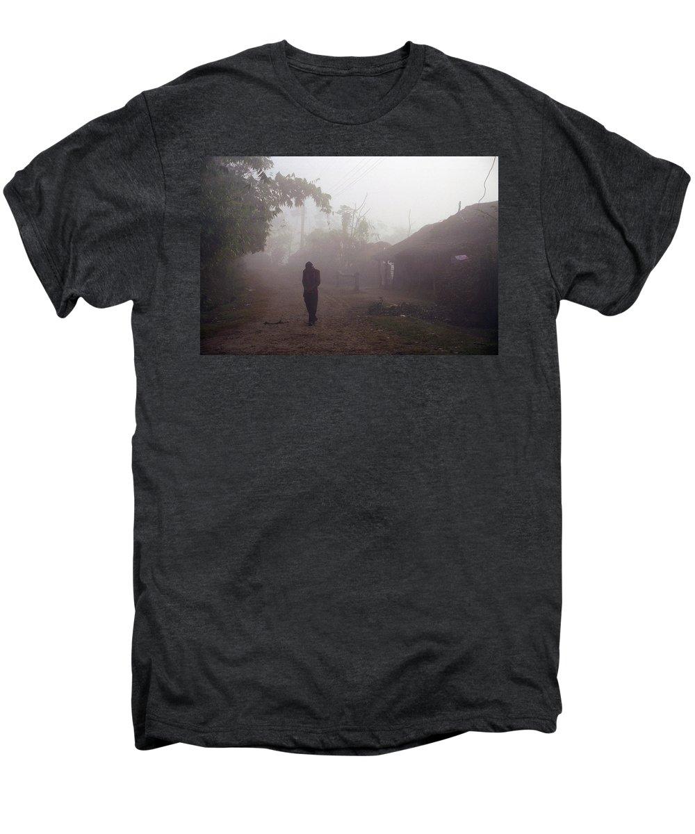 Nepal Men's Premium T-Shirt featuring the photograph Tristesse by Patrick Klauss