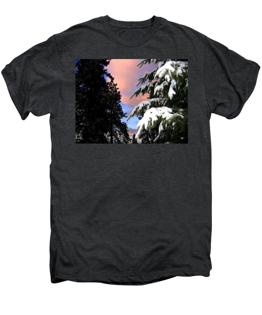 Sunset Men's Premium T-Shirt featuring the photograph Twilight Hour by Will Borden