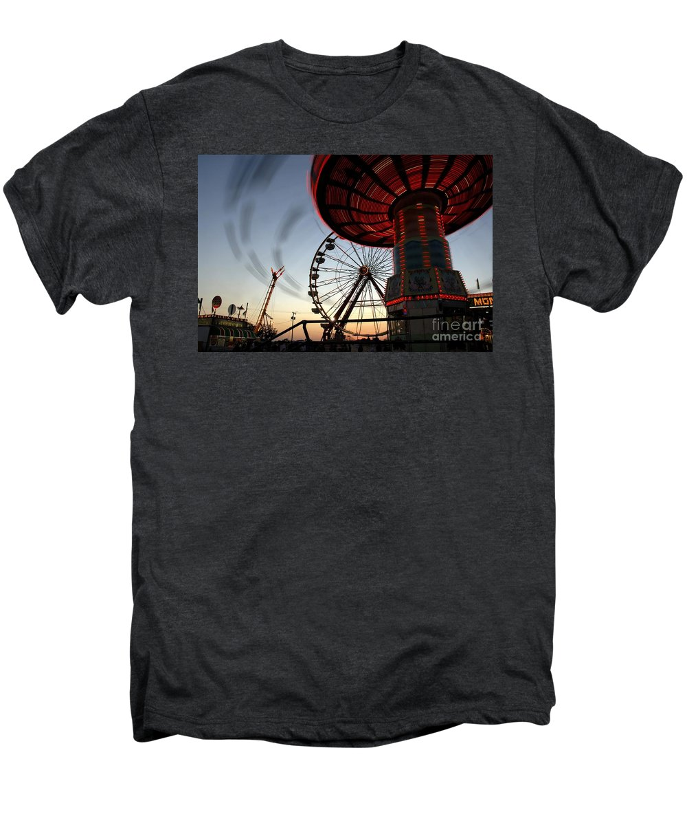 Fair Men's Premium T-Shirt featuring the photograph Twirling Away by David Lee Thompson