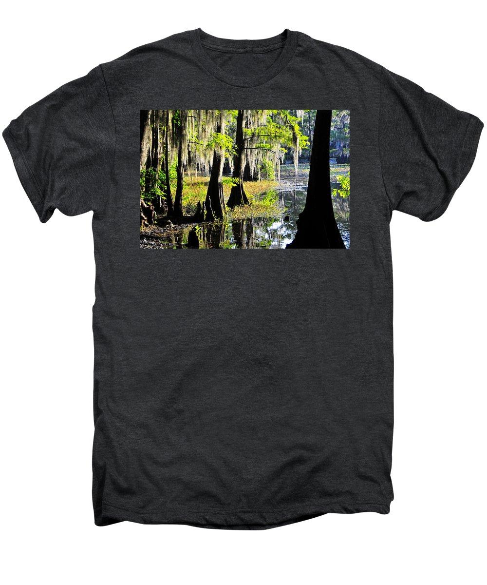 Skip Hunt Men's Premium T-Shirt featuring the photograph Uncertain by Skip Hunt