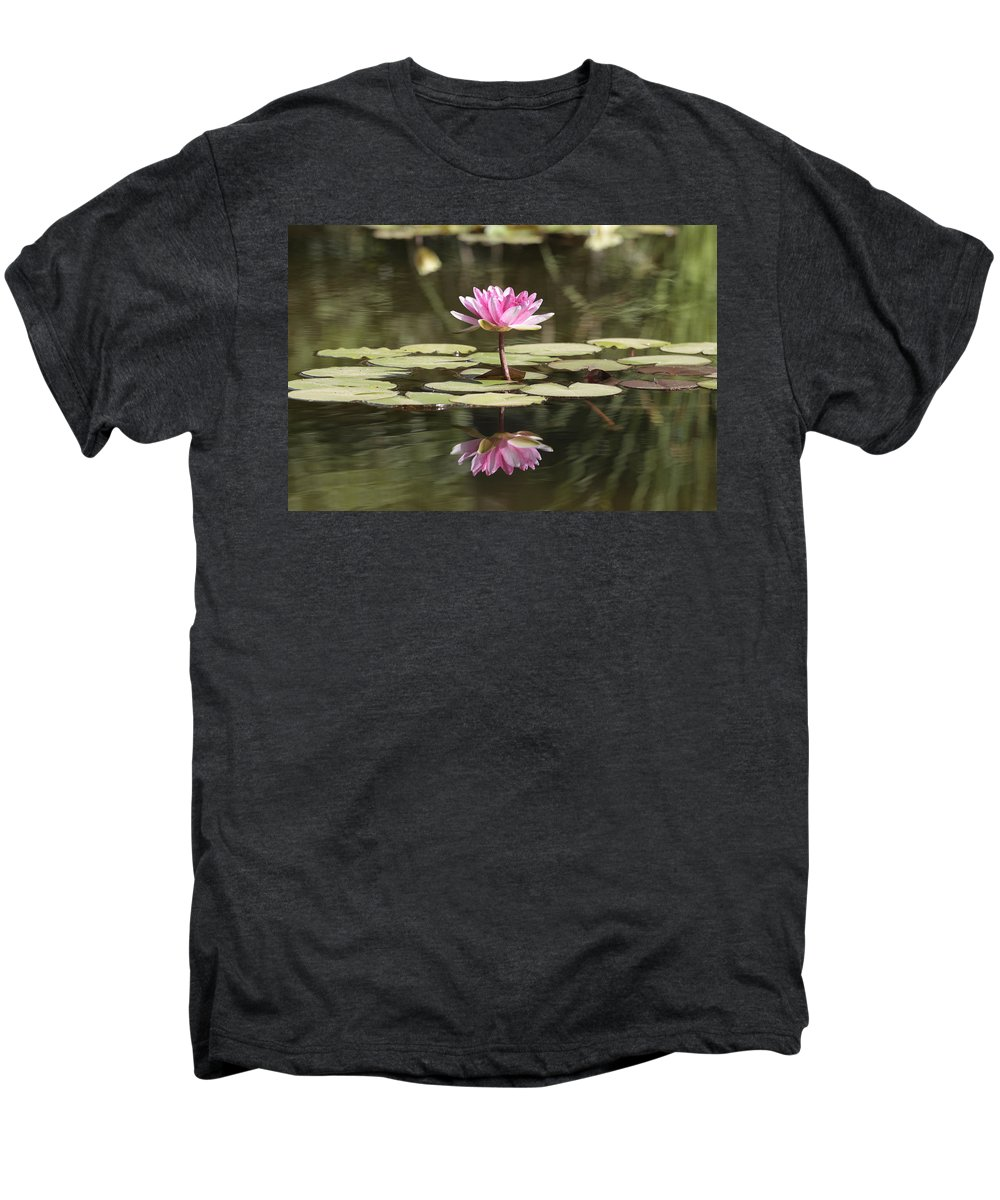 Lily Men's Premium T-Shirt featuring the photograph Water Lily by Phil Crean
