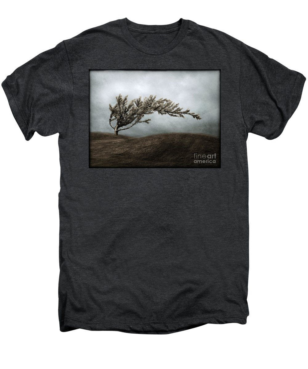Bend Men's Premium T-Shirt featuring the photograph We Break And We Bend And We Turn Ourselves Inside Out by Dana DiPasquale