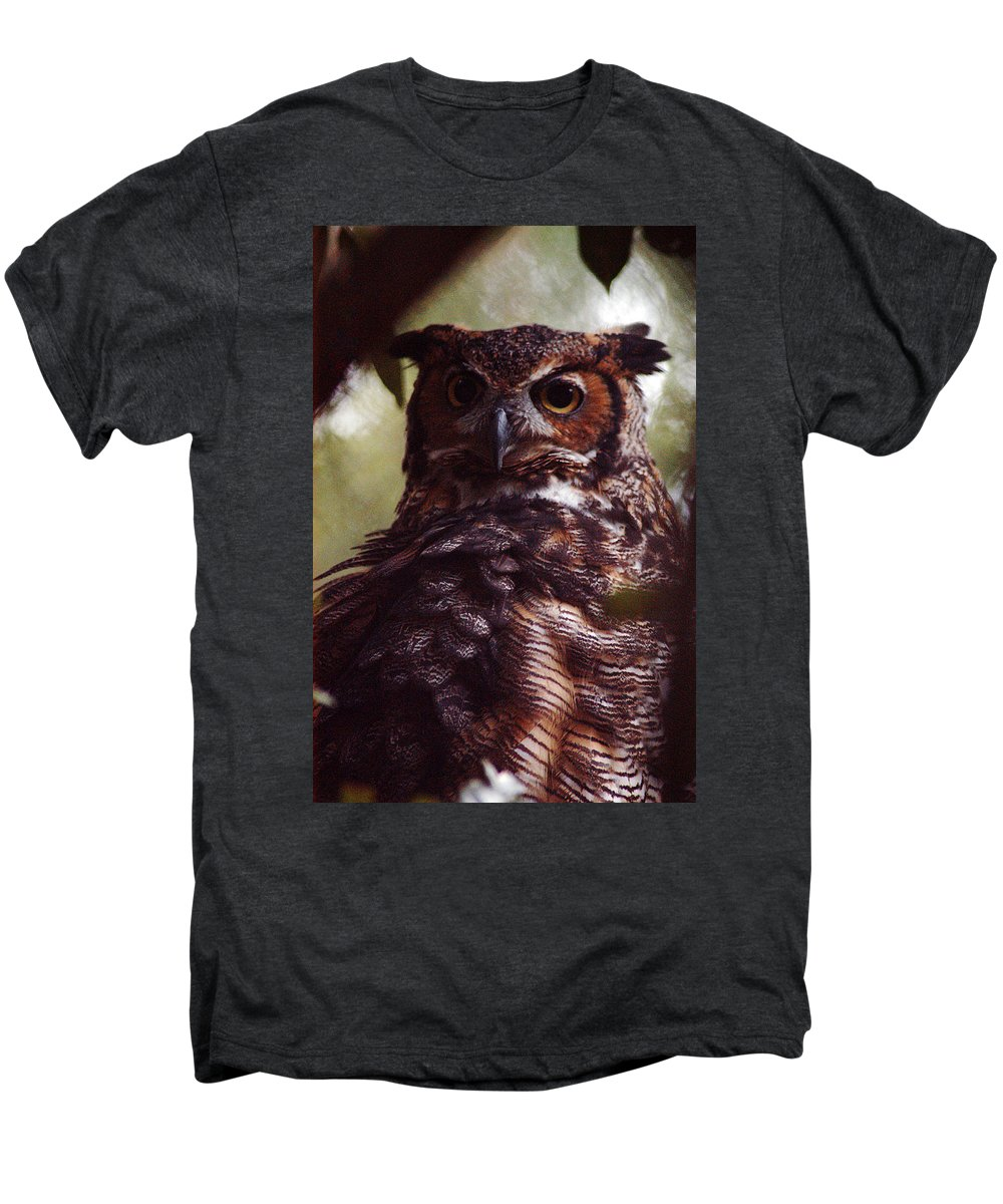 Clay Men's Premium T-Shirt featuring the photograph Who by Clayton Bruster