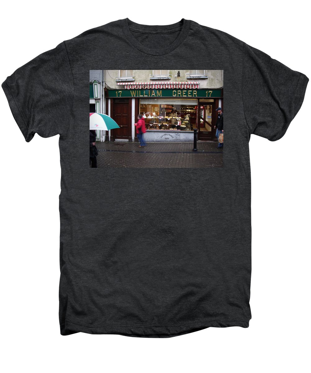 Ireland Men's Premium T-Shirt featuring the photograph William Greer by Tim Nyberg
