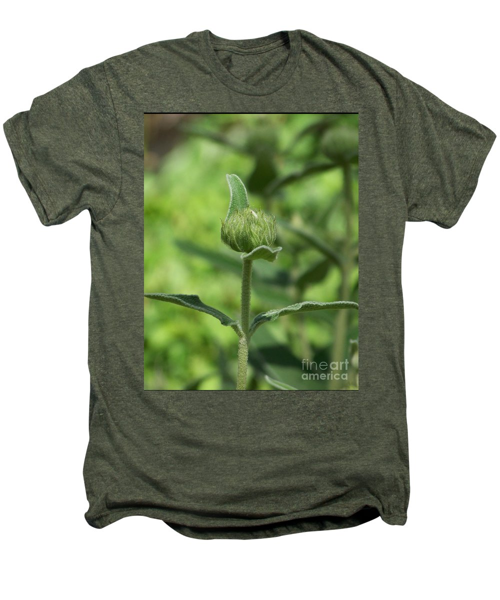 Plants Men's Premium T-Shirt featuring the photograph Its A Green World by Kathy McClure