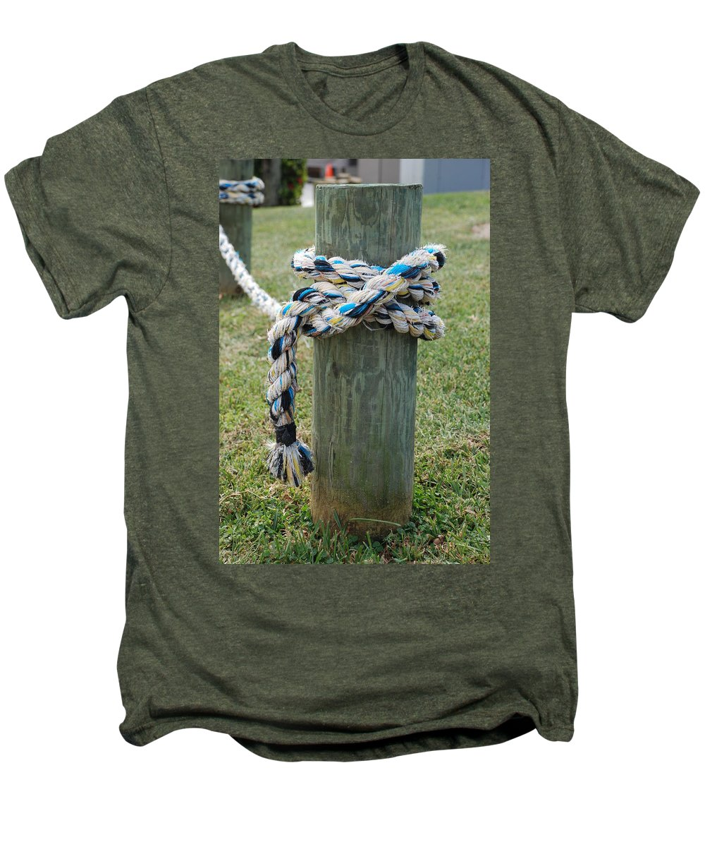 Boats Men's Premium T-Shirt featuring the photograph Boat Lines by Rob Hans
