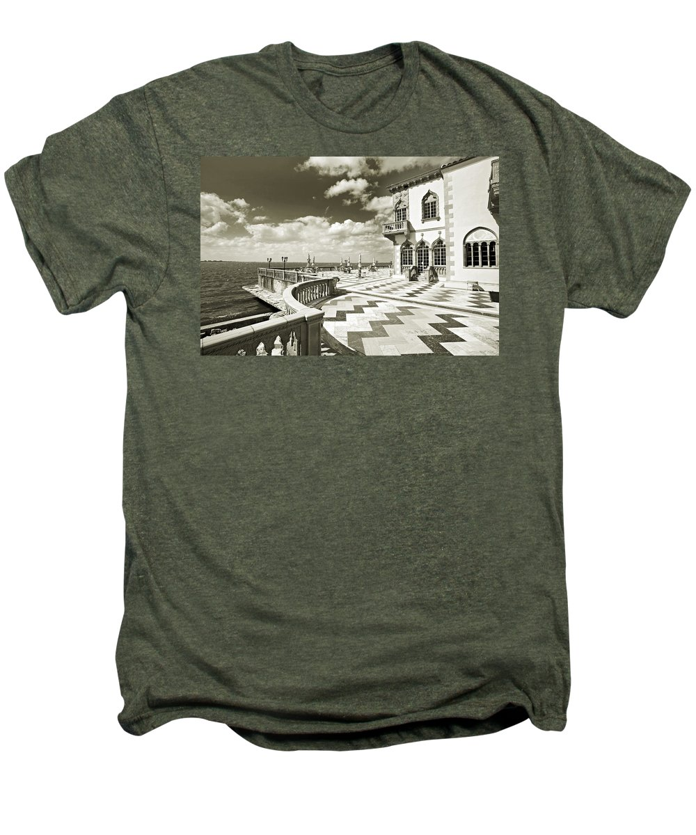 Ringling Men's Premium T-Shirt featuring the photograph Ca D'zan Mansion by Mal Bray