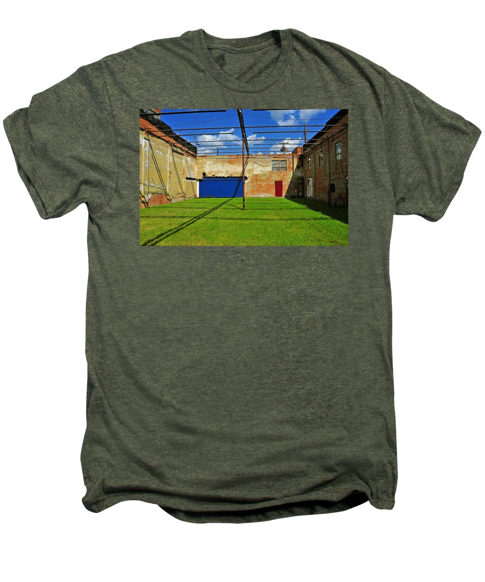 Skiphunt Men's Premium T-Shirt featuring the photograph Eco-store by Skip Hunt