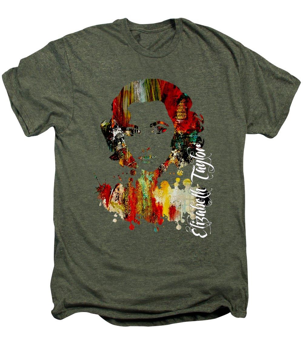 Elizabeth Taylor Premium T-Shirts