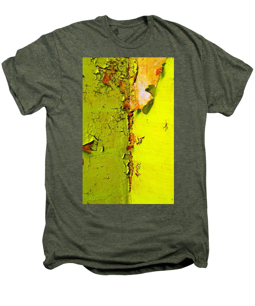 Skip Hunt Men's Premium T-Shirt featuring the photograph Going Green by Skip Hunt