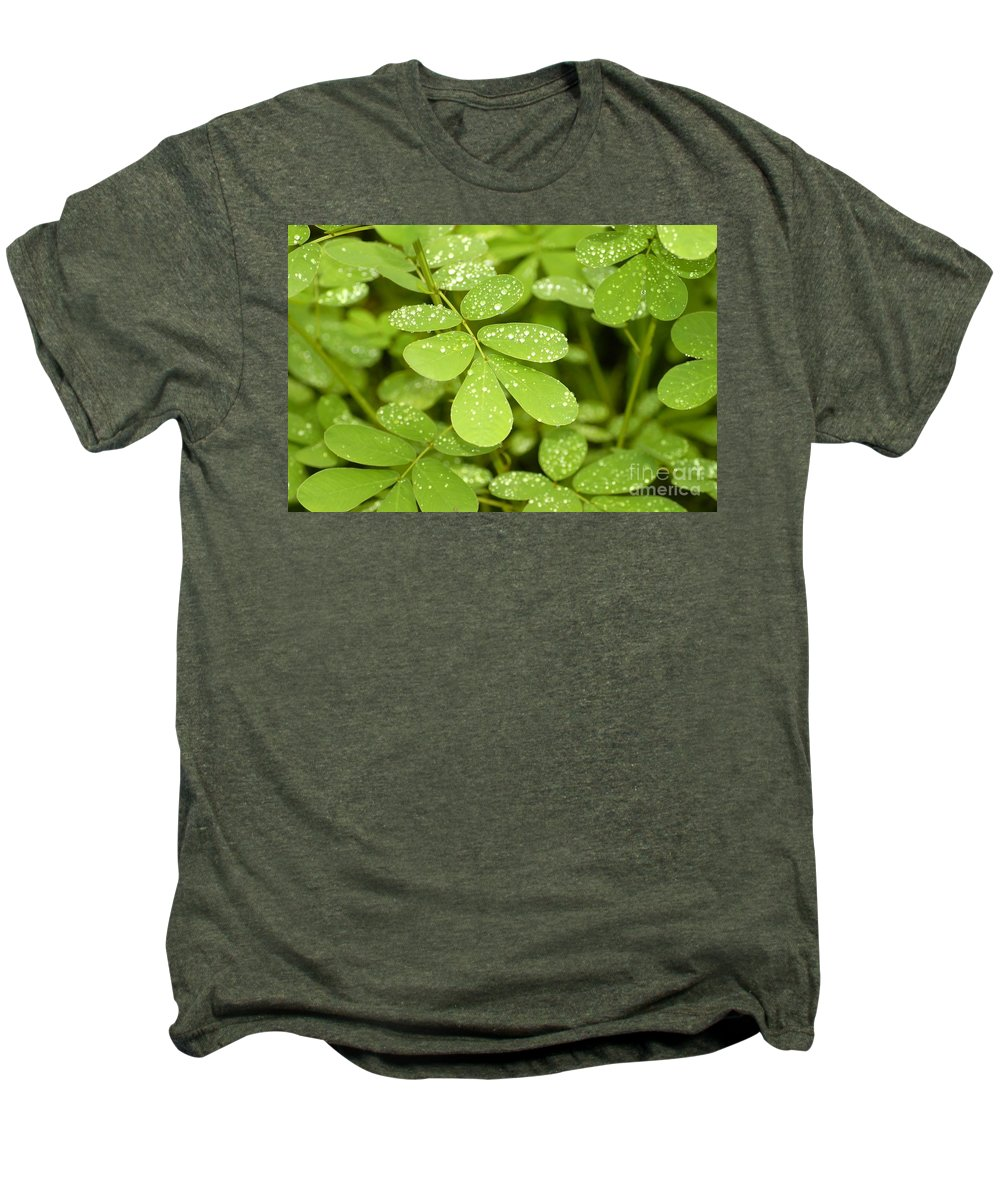 Green Men's Premium T-Shirt featuring the photograph Green by David Lee Thompson