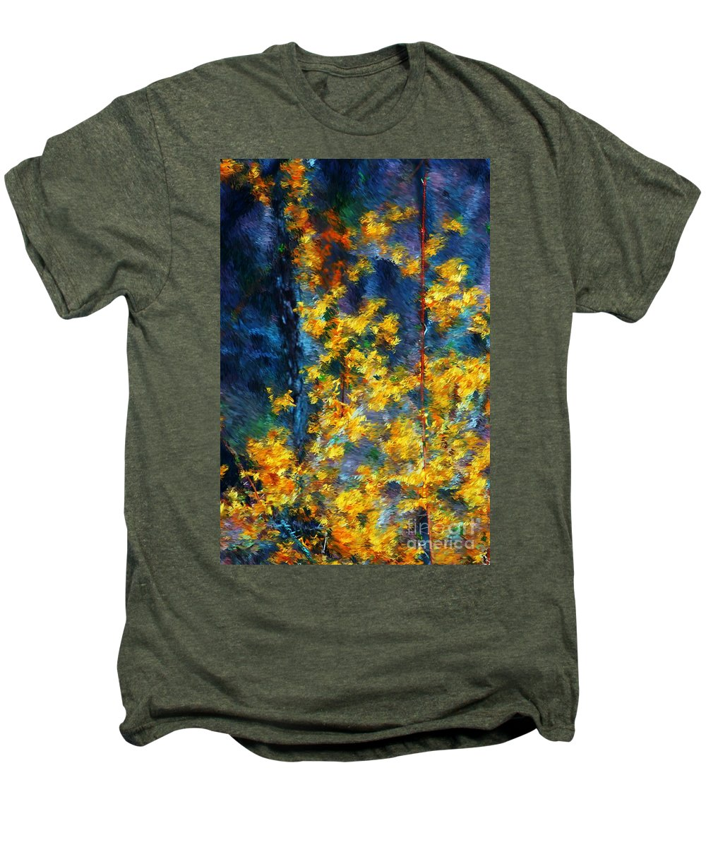 Nature Men's Premium T-Shirt featuring the photograph In The Woods Again by David Lane
