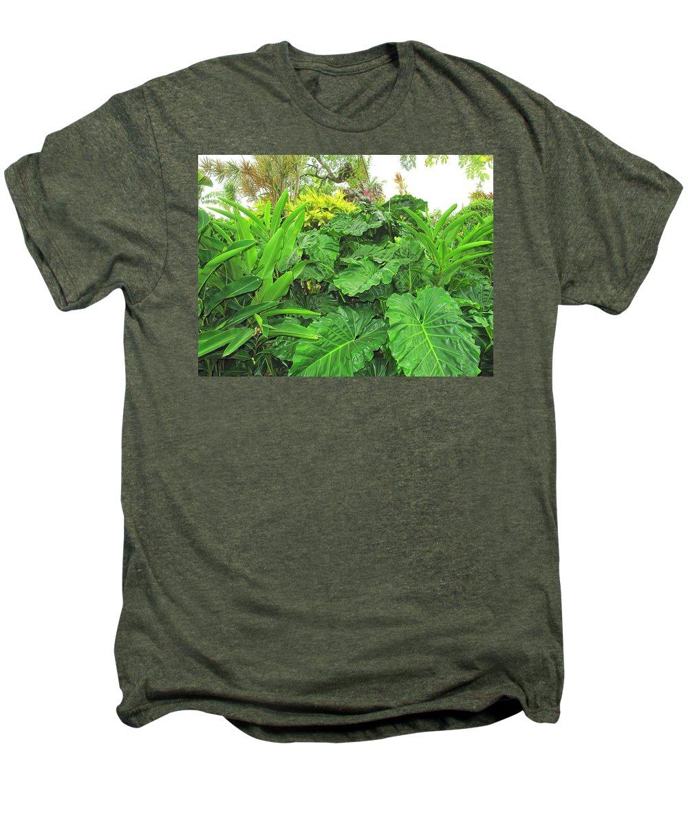 Vegetation Men's Premium T-Shirt featuring the photograph Lust Too by Ian MacDonald