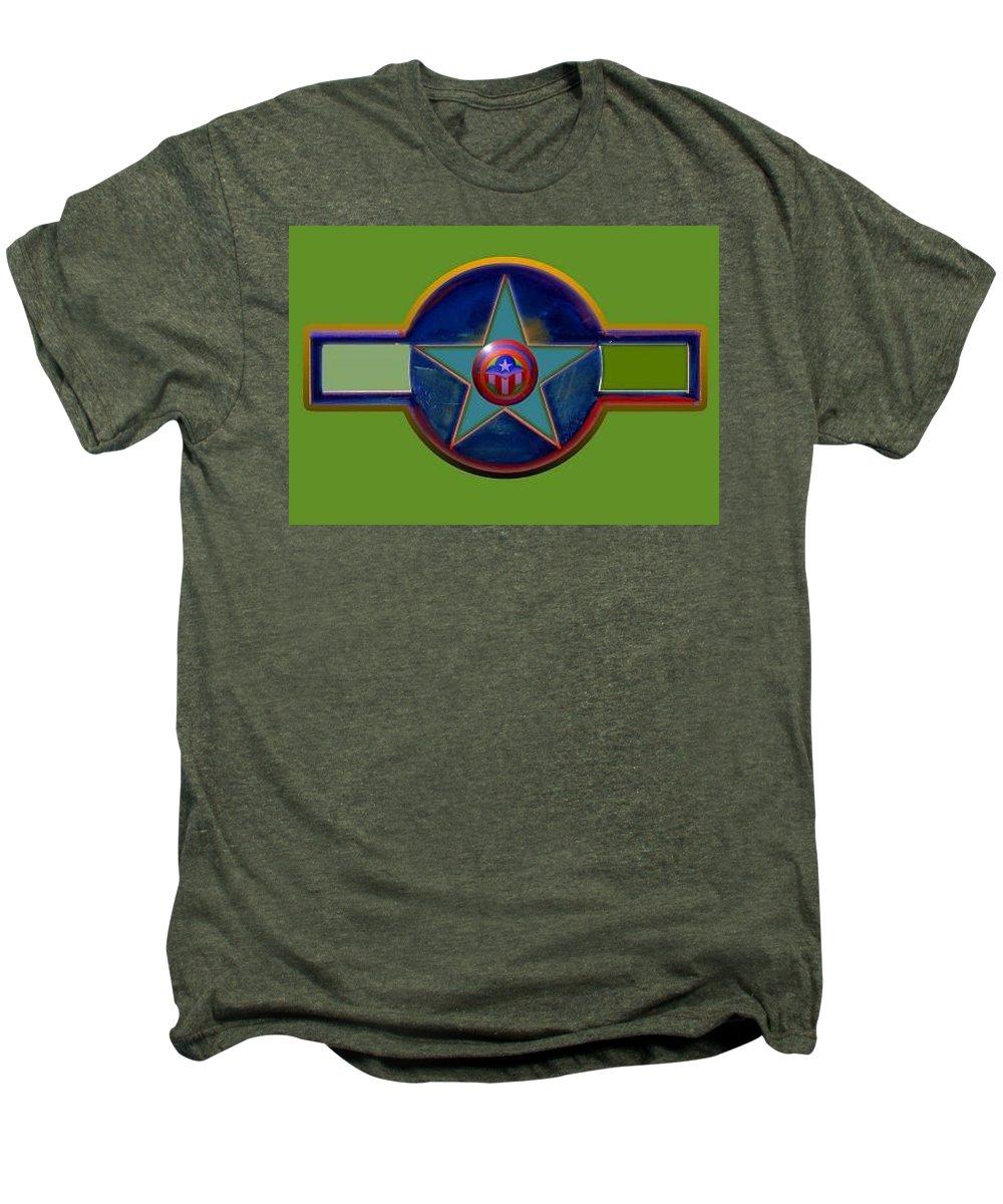 Usaaf Insignia Men's Premium T-Shirt featuring the digital art Pax Americana Decal by Charles Stuart