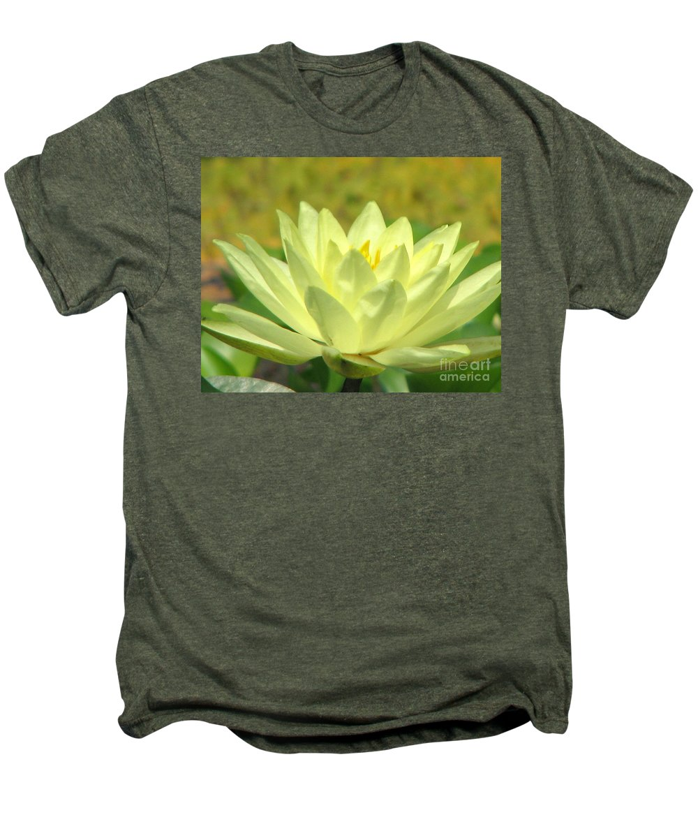 Lillypad Men's Premium T-Shirt featuring the photograph Shades by Amanda Barcon
