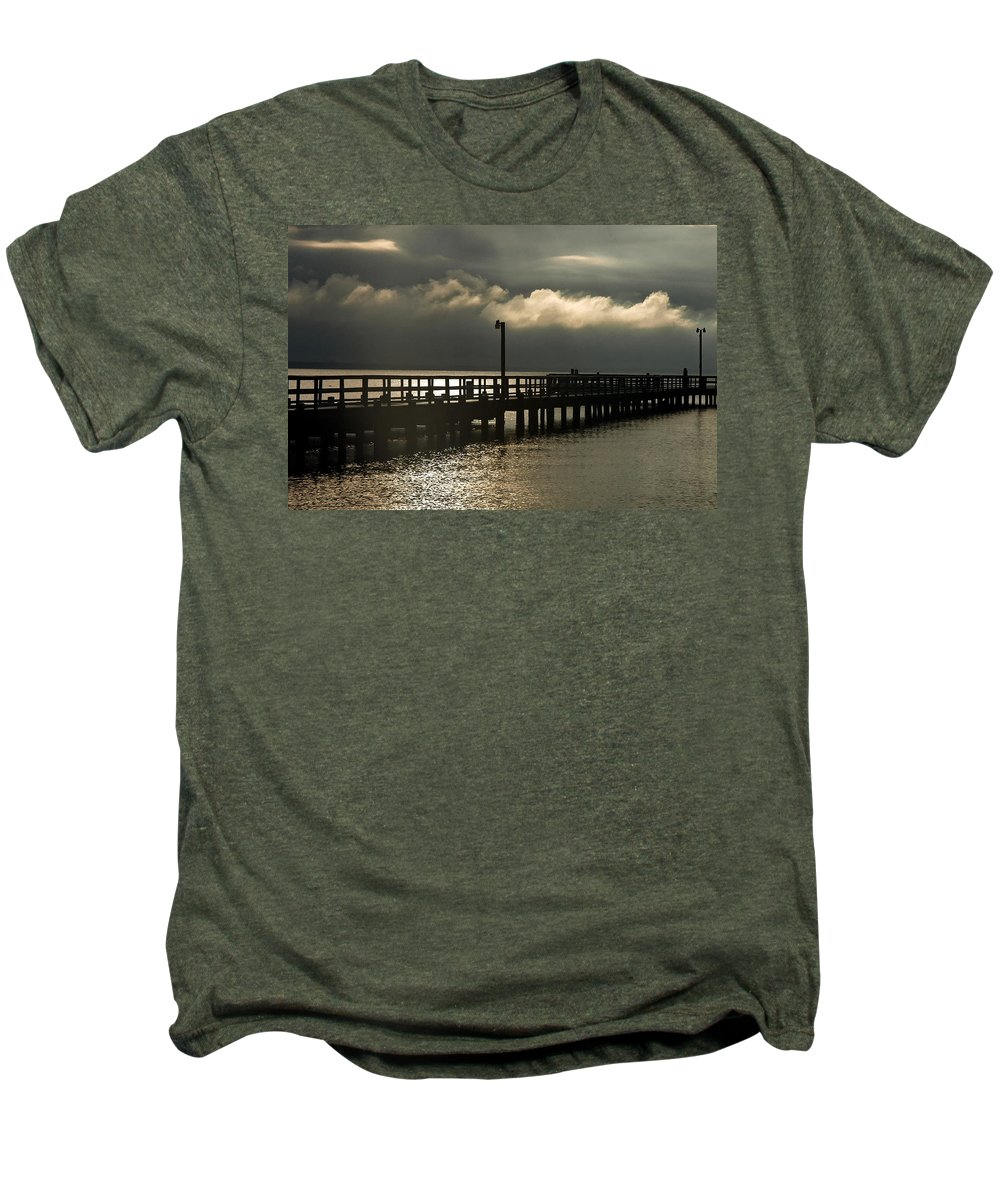 Clay Men's Premium T-Shirt featuring the photograph Storms Brewin' by Clayton Bruster