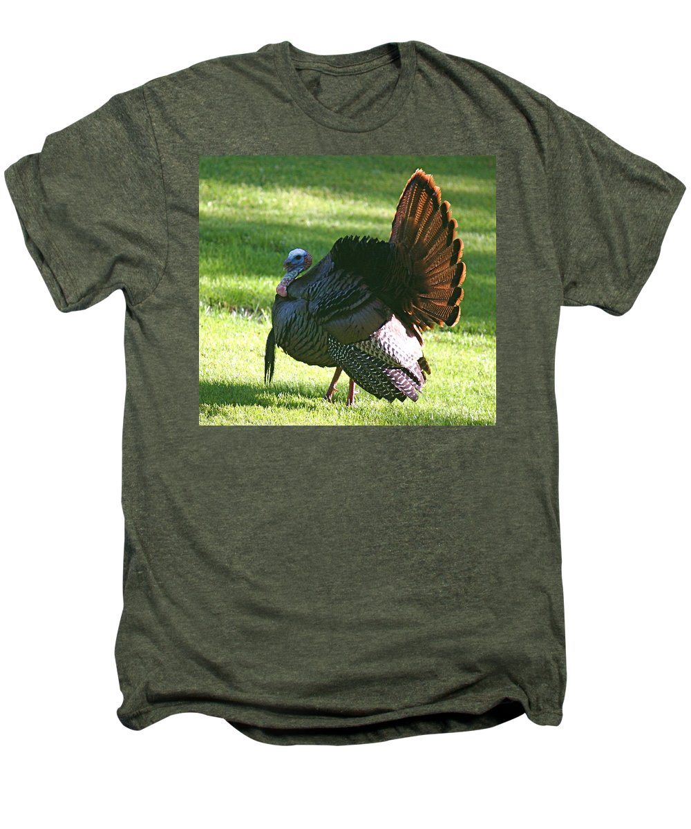 Turkey Men's Premium T-Shirt featuring the photograph The Big Tom by Robert Pearson