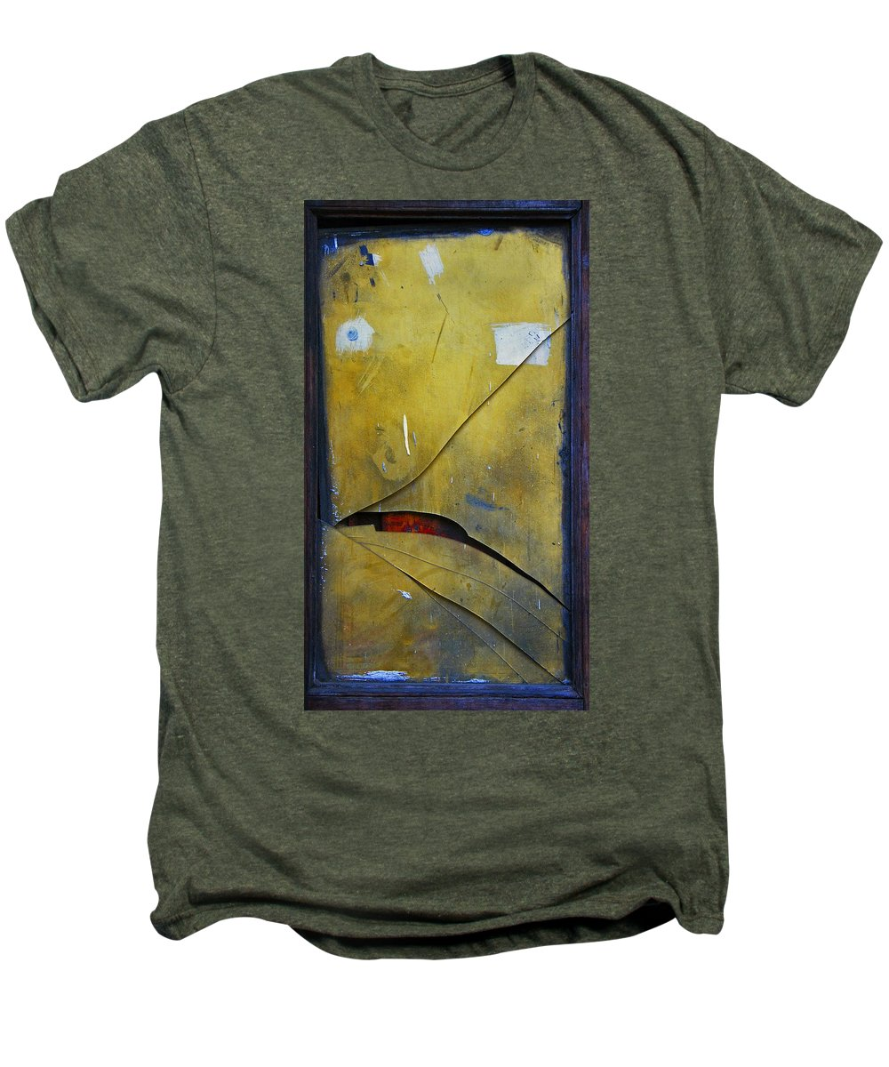 Abstract Men's Premium T-Shirt featuring the photograph Xalapa Miro by Skip Hunt